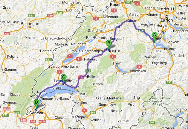 switzerland-route