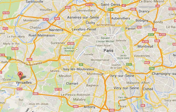 Versailles-map